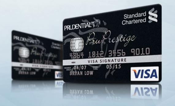 13 most exclusive credit cards in singapore asian banking finance standard chartered bank pruprestige visa signature credit card reheart Gallery