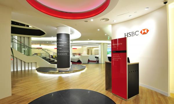 Check Out Hsbc S High Tech Flagship Branch At Orchard Road
