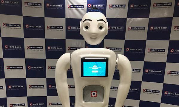 How may HDFC Bank's humanoid bot help you? | Asian Banking