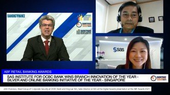 OCBC Bank and SAS wage war on fraud with award-winning digital surveillance system